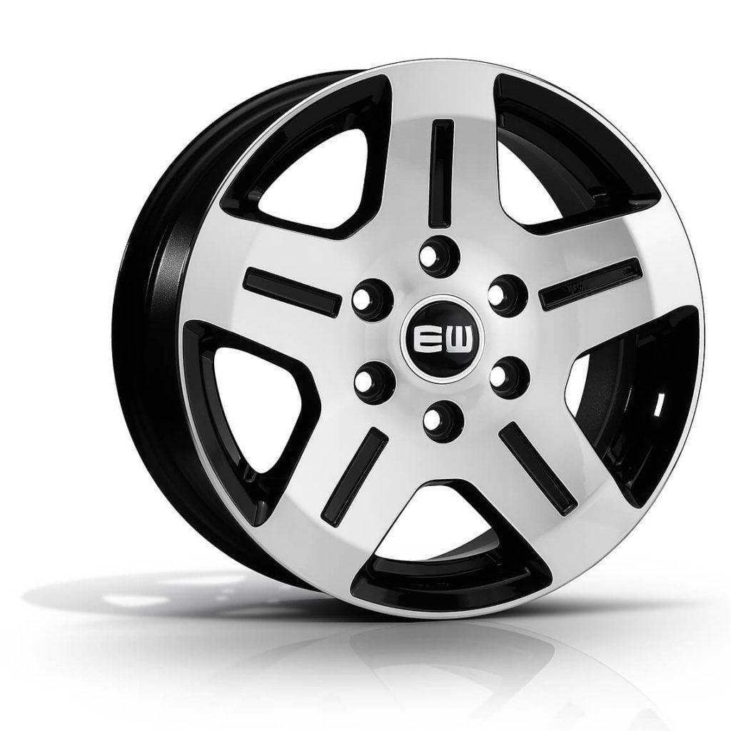 EJ06 - ROCKY - Black Polished
